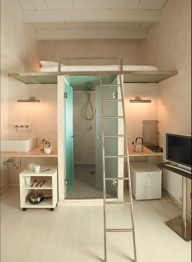 Las 25 mejores ideas sobre camas altas en pinterest y m s for Camas de dos plazas baratas