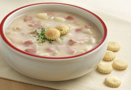 To Explore? To Create? To Wow? Share your reason and learn more at http://swanson.campbellskitchen.com/recipe/new-england-clam-chowder/