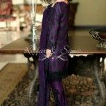 Riffat & Sana Silk Karandi Semi-Formal Outfits 2015-2016 For Winter (19)
