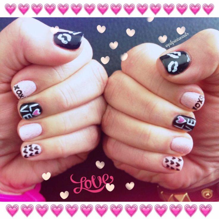 Love love love...#nails #nailart #lacquerpro