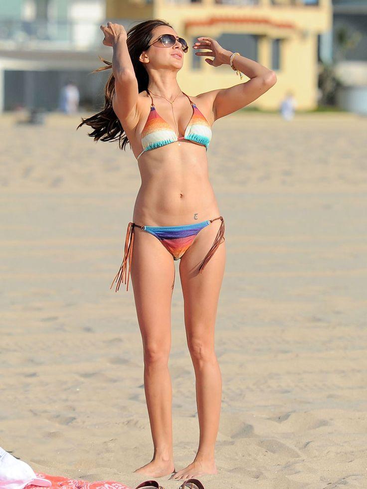 Noureen DeWulf   NOUREEN DeWULF in Bikini at Redondo Beach