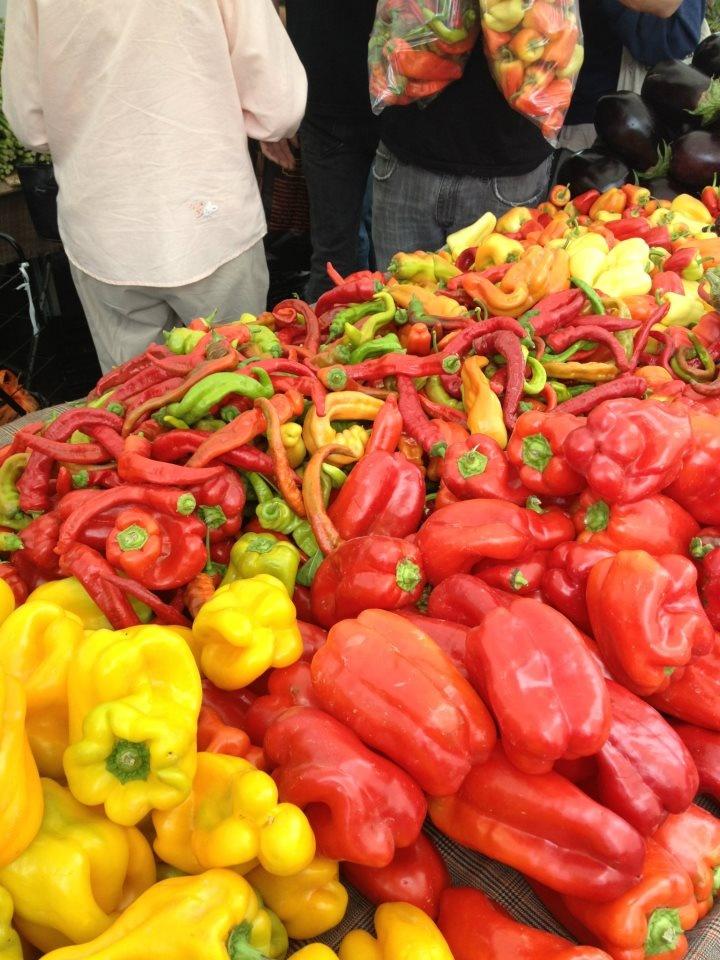 Santa Monica Farmers Market 7/19/12