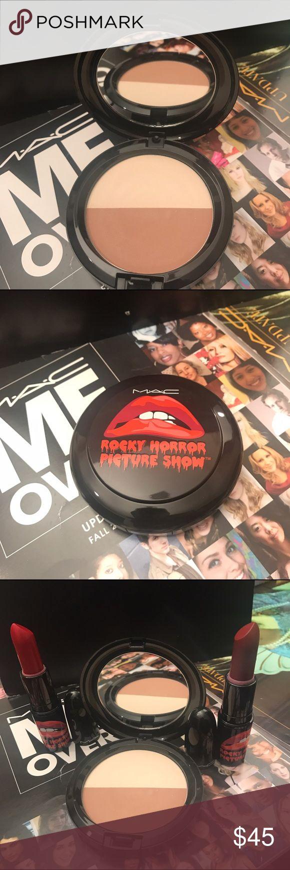"M.A.C. ROCKY HORROR PICTURE SHOW SCULPT POWDER M.A.C. ROCKY HORROR PICTURE SHOW SCULPT AND SHAPE POWDER IN ""BONE BEIGE/ EMPHASIZE"" CONDITION: NEW (HIGHLIGHT & CONTOUR POWDER) MAC Cosmetics Makeup"