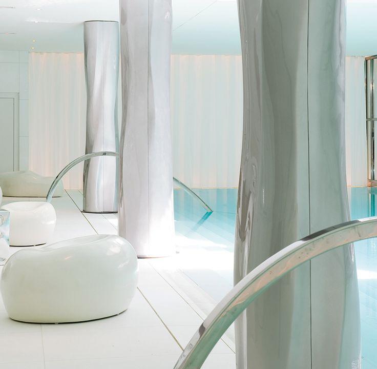 16 best les spas my blend by clarins images on pinterest spa spas and artist management. Black Bedroom Furniture Sets. Home Design Ideas