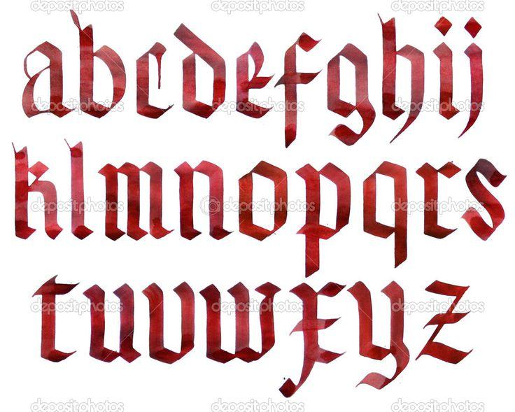 готические буквы - Поиск в Google