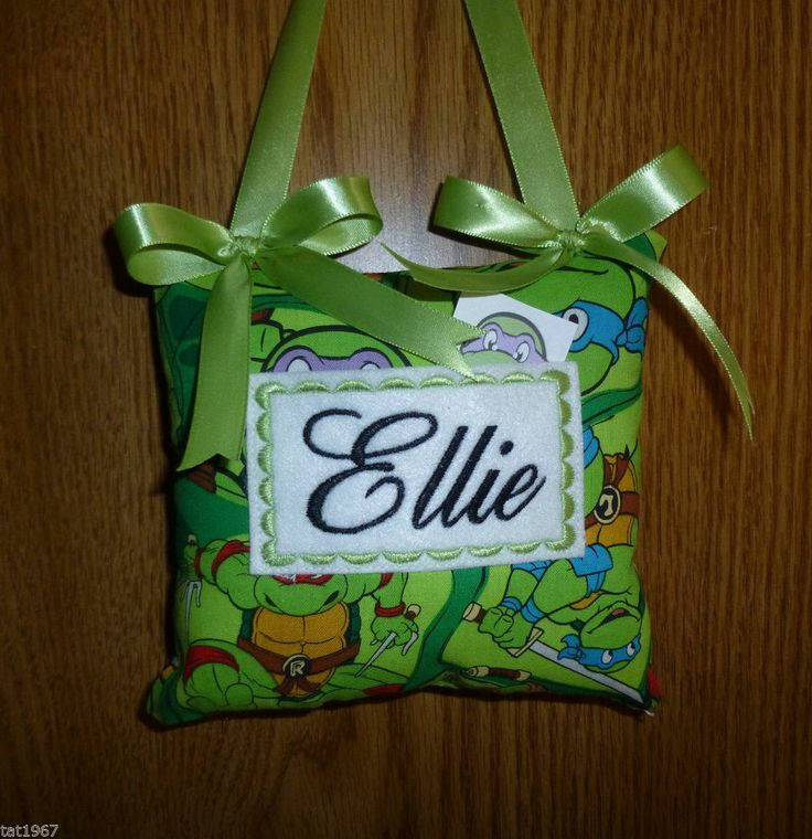 Happy Tooth Fairy Pillow ~personalized Just For You~TEENAGE MUTANT NINJA  TURTLES #handcrafted
