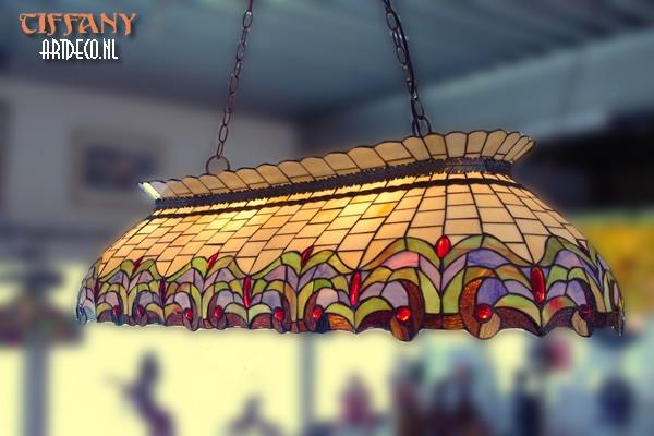 15202 - Tiffany hanglamp biljart/eettafel