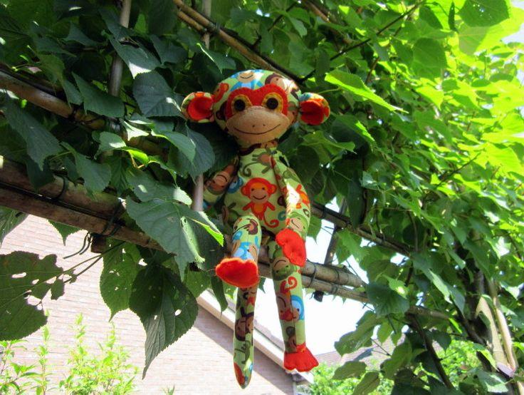 aapje, stof van Robert Kaufman