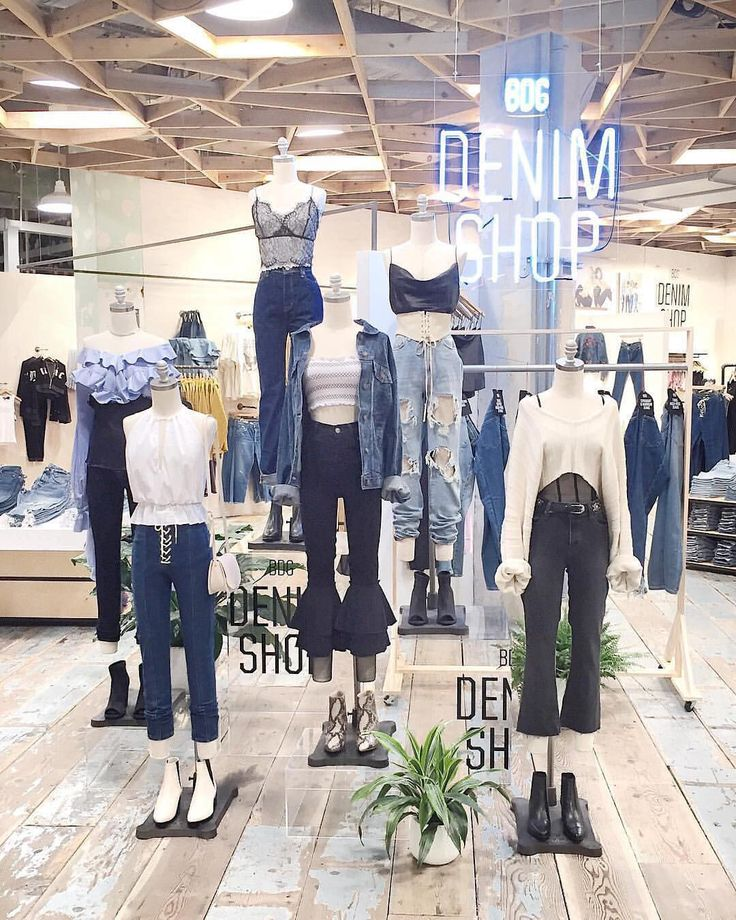 "URBAN OUTFITTERS, Herald Square, New York, ""A Denim Dream Come True"", pinned by Ton van der Veer"