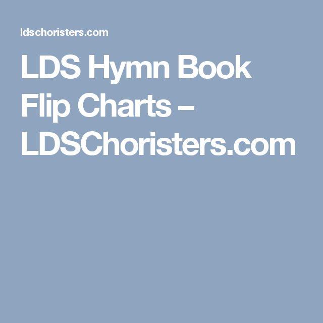 LDS Hymn Book Flip Charts – LDSChoristers.com