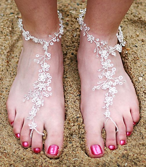 Beach Foot Lace Barefoot Sandals