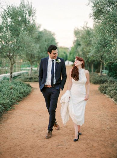 Beautiful rustic destination farm wedding in South Africa red hair and an amazing couple