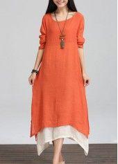Side Slit Black Skew Neck Dress on sale only US$28.74 now, buy cheap Side Slit Black Skew Neck Dress at lulugal.com