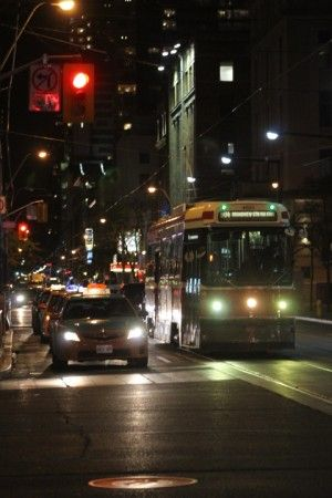 This photo was taken at King Street Photo Credit: Richard Trus - Cochrane - www.richardtrus.com This is what makes a street more complete #TOcompletestreets