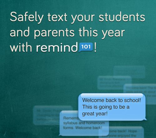 @Remind101 -Can't wait to use this app with all of our intensive readers this year! Our school motto- No Excuses!