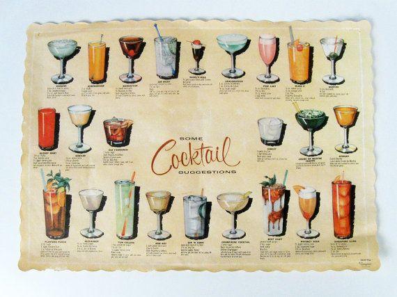 25 Best Ideas About Drink Menu On Pinterest: 25+ Best Ideas About Vintage Cocktails On Pinterest