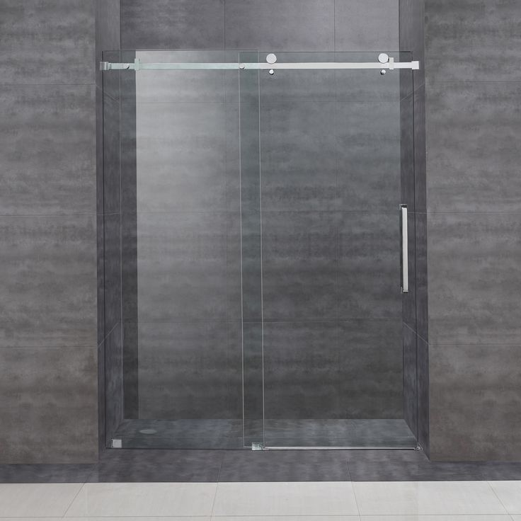 Bathroom Sliding Glass Doors: 1000+ Ideas About Sliding Shower Doors On Pinterest