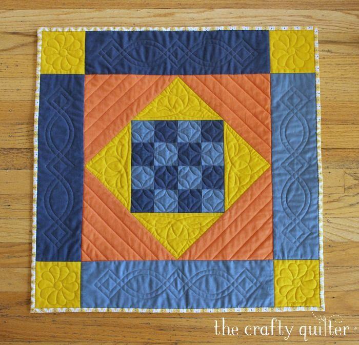 Amish Mini Quilt - free pattern