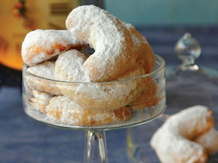Bademli hilal kurabiye