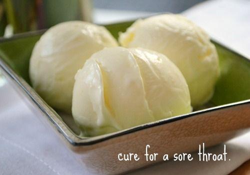 liberte lemon frozen yogurt - oh my...