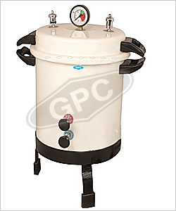GPC Medical Ltd. - Manufacturer & Exporter of autoclaves portable ( sterilizer steam pressure ) - pressure cooker type from India.