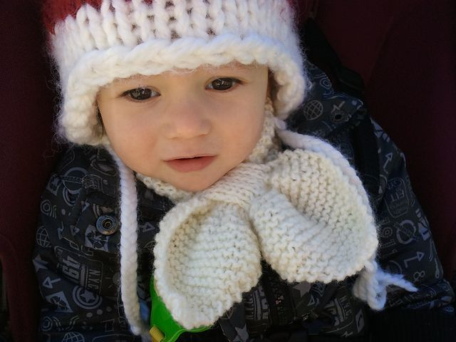 Free Baby Scarf Knitting Pattern : 43 best images about Baby Scarves - Knitting and Crochet ...
