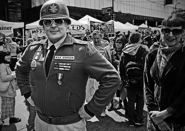 Major Stoner - 420 Vancouver 2013, (c) dm gillis, via Flickr.