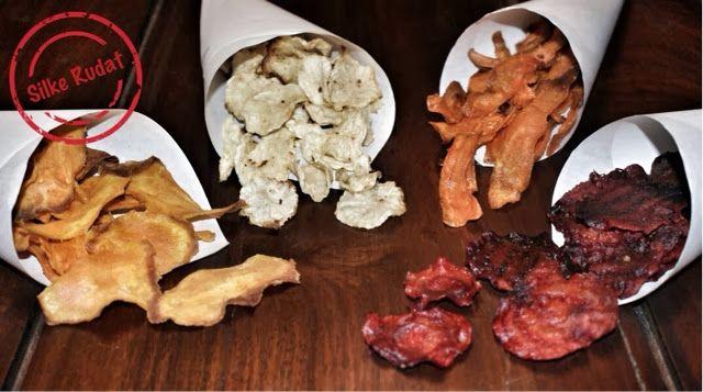 Silke Rudat, der deutsche Blog: gemüse chips...rote beete, karotte, süsskartoffel, rettich