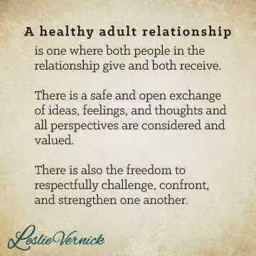 A Healthy Adult Relationship