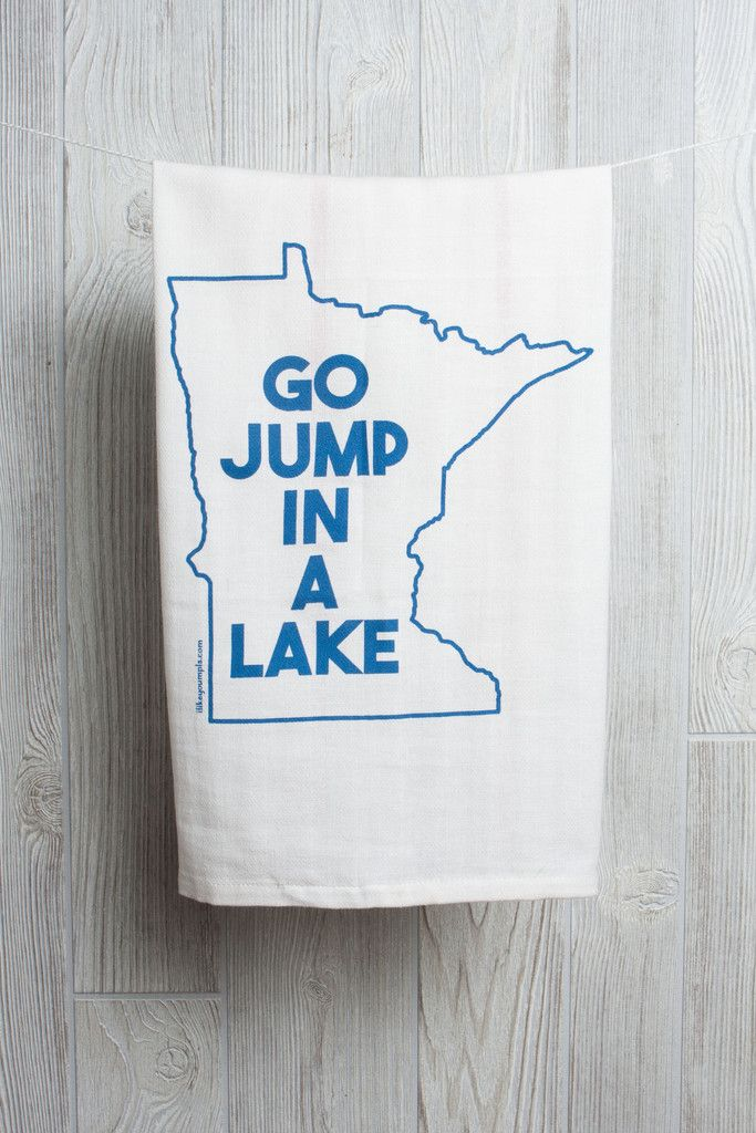 JUMP IN A LAKE TOWEL asst colors