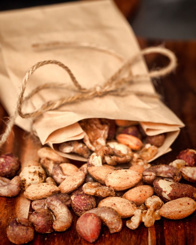 Spiced Activated Nuts - soaked to activate the enzymes and then dried overnight in a dehydrator to make them extra crunchy.