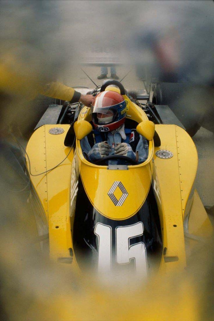 Renault RS1 V6 EF1 Turbo Jean-Pierre Jabouille foi 4º no Grande Prêmio dos Estados Unidos de 1978 com o Renault RS1 (Foto fornecida por Renault F1, Watkins Glen, NY, 01.10.1978)