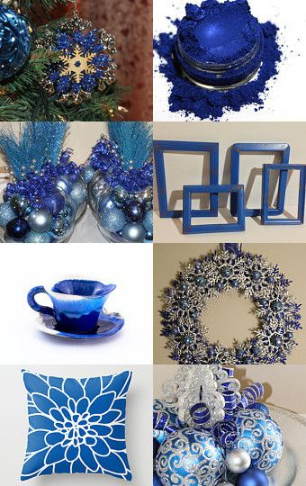 Sapphire Christmas by Shawna on Etsy--Pinned with TreasuryPin.com