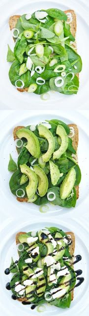 Tinned Tomatoes: Creamy Avocado and Goats Cheese Sandwiches - My lunch today!