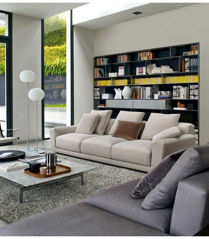 Sofa Luis B&B design  Antonio Citterio buy at #italian #design #outlet €19 459,49