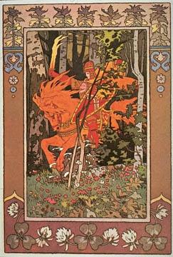 Ivan Bilibin-Russian fairy tale illustrator