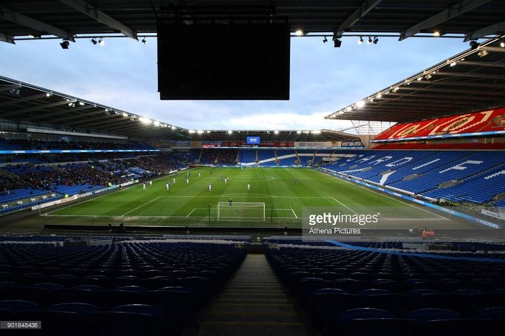 A general view of the Cardiff City Stadium and the thousands of empty seats during the Fly Emirates FA Cup Third Round match between Cardiff City and Mansfield Town at the Cardiff City Stadium on January 06, 2018 in Cardiff, Wales. (Photo by Athena Pictures/Getty Images)