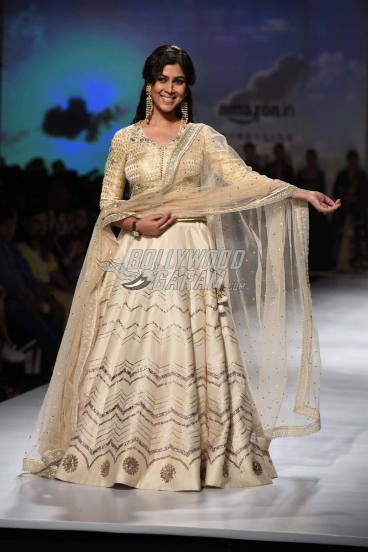 Sakshi Tanwar at Amazon India Fashion Week Autumn/Winter 2017 on March 17, 2017