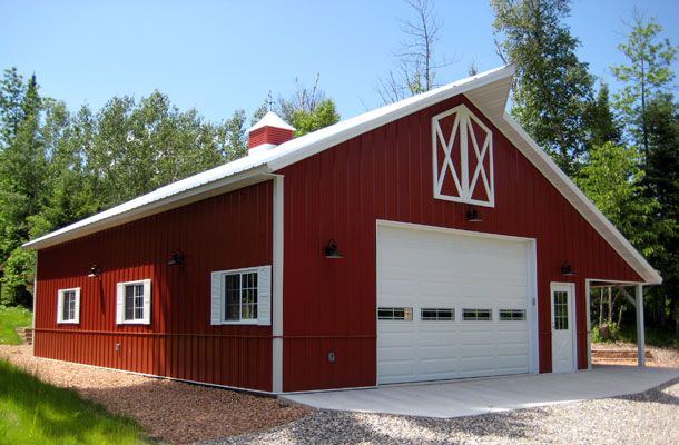 1000 images about pole barn on pinterest building for Hobby barn plans