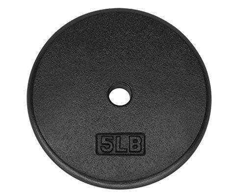 Yes4All 1-inch Cast Iron Weight Plates for Dumbbells - Standard Weight Disc Plates (5 lbs Single)  List Price: $9.99  Deal Price: $8.49  You Save: $1.50 (15%)  Yes4All 1-inch Cast Iron Weight Plates for Dumbbells - Standard Weight Disc Plates (5 lbs Single)  Expires Dec 7 2017