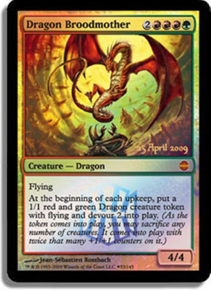 Dragon Broodmother Promotional Prerelease Alara Reborn ...
