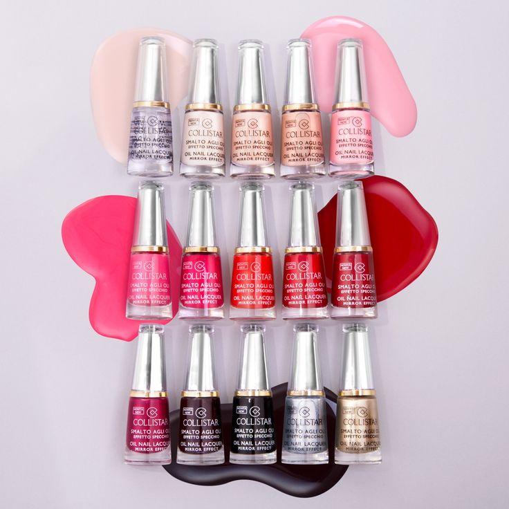 Smalto Agli Oli Effetto Specchio: colore intenso, finish brillante, pennello hi-tech e unghie rivitalizzate e forti!