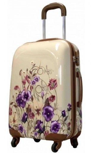 Maleta Flores tamaño cabina y mediana en http://maletasoriginales.com/maletas-baratas/608-maleta-cabina-flores.html