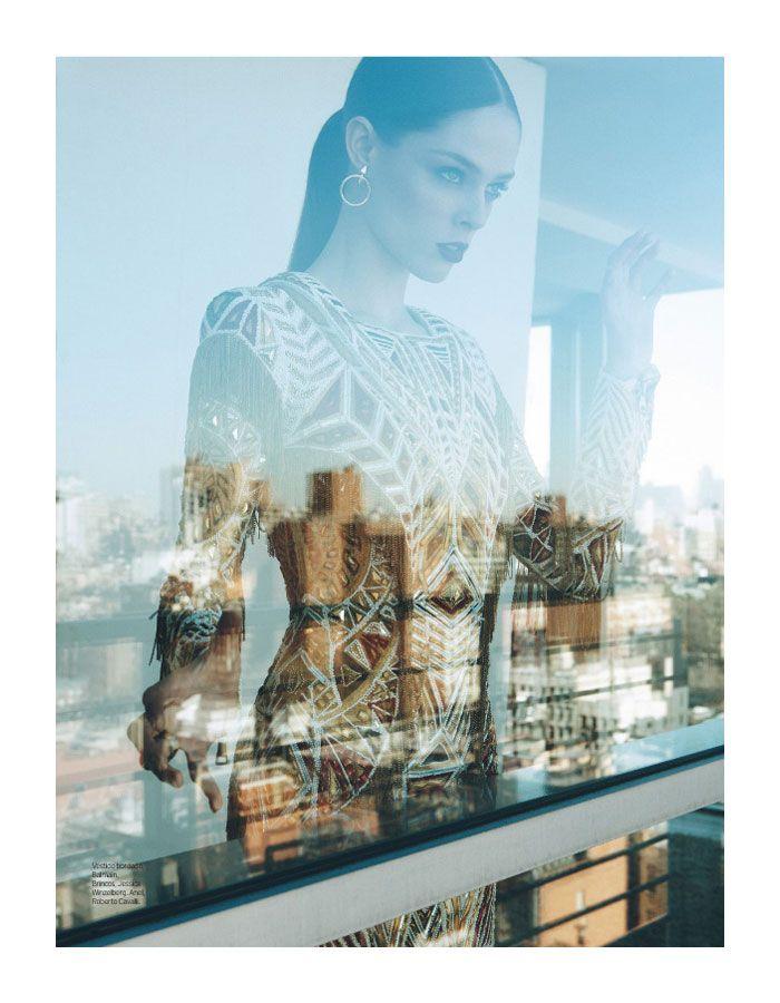 Coco RochaModels, En Vogue, Max Abadian, Ellebrazil, Cocorocha, Windows Shops, Fashion Editorial, Elle Brazil, Coco Rocha