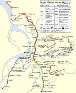 """Metro de Taipei - """"Que faire en 7h de transit à Tapei"""" www.creativecolibri.fr"""