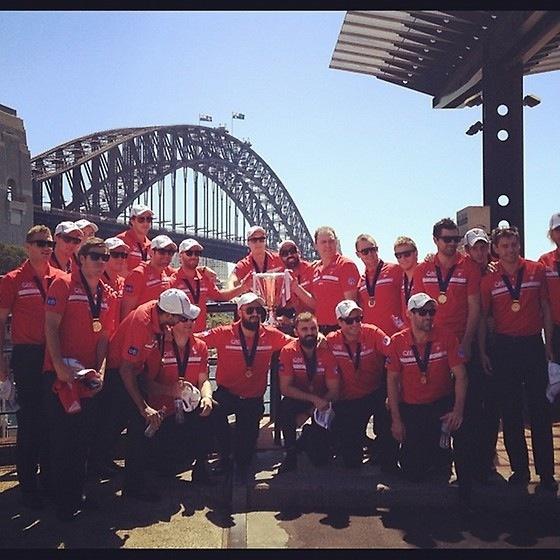 Sydney Swans - 2012 AFL Premiers - Parade Day