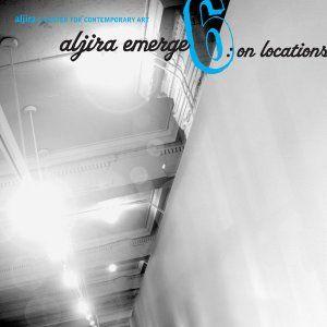 "Fully illustrated catalog from the Aljira exhibition, ""Aljira Emerge 6: On Locations"". $10.00"