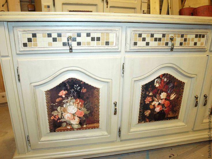 """Купить Комната """"Фламандские цветы"""" - комод, переделка комода, мебель для дома…"""