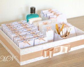 Kit Toilette para casamentos! Info: contato.mimodasnoivas@gmail.com