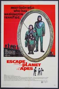 escape from the planet of the apes movie
